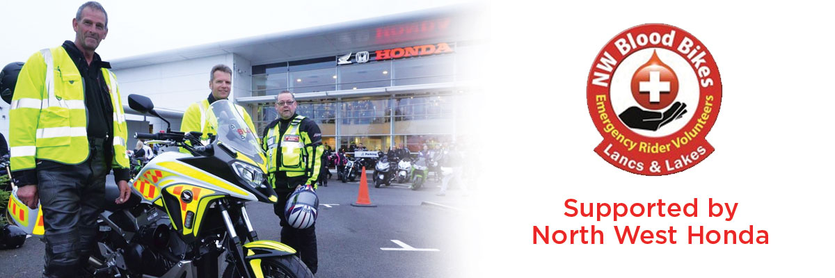 North West Honda Donates Blood Bike