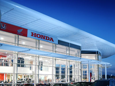 North West Honda Blackpool Dealership