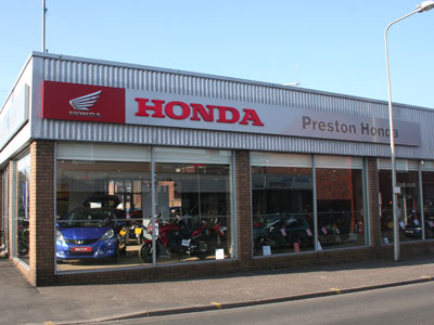 North West Honda Preston Dealership